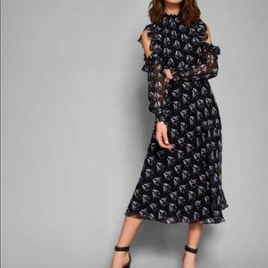 Ted Baker HILAINA cold shoulder dress